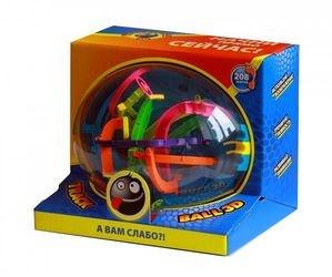 Шар-лабиринт Трэк Бол (Track Ball) 3D 22 см. (208 ходов) фотография 2