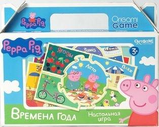 Фото Настольная игра Времена года. Свинка Пеппа (01575)