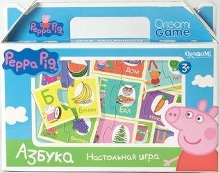 Фото Настольная игра Азбука Свинка Пеппа (01573)