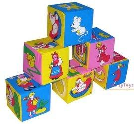 Мягкие кубики Мякиши Сказки фотография 1