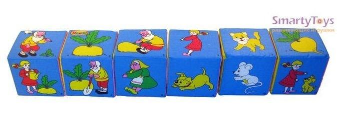 Мягкие кубики Мякиши Сказки фотография 2