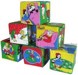 Мягкие кубики Мякиши Сказки фотография 3