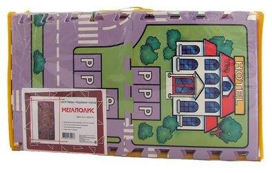 Мягкий коврик-пазл Мегаполис (MTP-30185) фотография 3