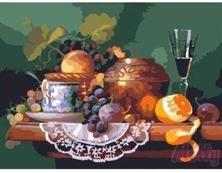 Фото Картина по номерам Завтрак поэта 40х50 (GX6130)