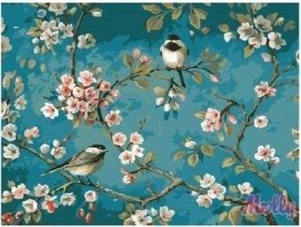 Фото Картина по номерам Яблоня в цвету 40х50 (G435)