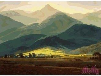 Фото Картина по номерам Горный пейзаж 40х50 (G409)