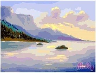 Фото Картина по номерам Речные просторы 40х50 (GX6598)