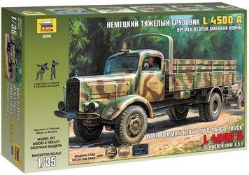 Фото Сборная модель Немецкий тяжелый грузовик L 4500A времен Второй Мировой Войны (3596)