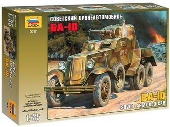 Фото Сборная модель Советский бронеавтомобиль БА-10 (3617)