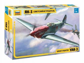 Фото Сборная модель Советский истребитель Як-3 (4814)