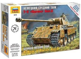 """Фото Сборная модель Немецкий средний танк T-V """"Пантера"""" Ausf.D (5010)"""