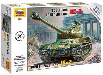 Фото Сборная модель Советский тяжелый танк ИС-2 (5011)
