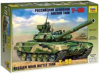 Фото Сборная модель Российский основной боевой танк Т-90 (5020)