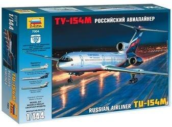 Фото Сборная модель Российский авиалайнер ТУ-154М (7004)