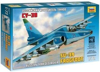 Фото Сборная модель Российский истребитель танков Су-39 (7217)