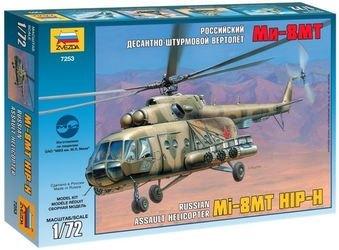 Фото Сборная модель Российский десантно-штурмовой вертолет Ми-8МТ (7253)