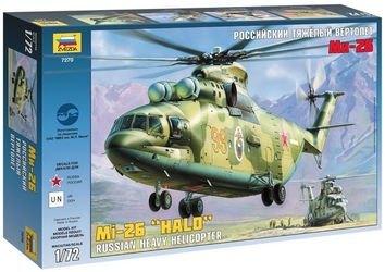 Фото Сборная модель Российский тяжелый вертолет Ми-26 (7270)