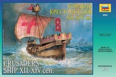 Фото Сборная модель Корабль крестоносцев XII-XIV вв. (9024)