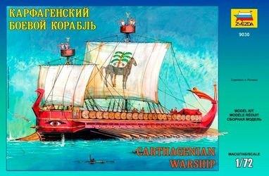 Фото Сборная модель Карфагенский боевой корабль (9030)