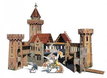 Сборная модель из картона Рыцарский замок (207) фотография 2