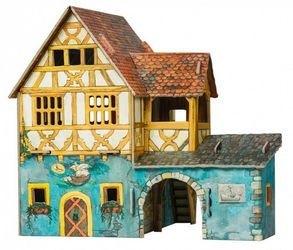 Фото Сборная модель из картона Дом моряка (284)