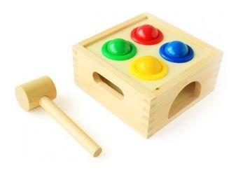 Фото Развивающая игрушка Стучалка Шарики (Д027)