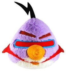 Фото Мягкая игрушка Angry Birds Space Фиолетовая птица 20 см (КАВ020)