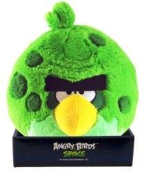 Фото Мягкая игрушка Angry Birds Space Зеленая птица 20 см (КАВ025)