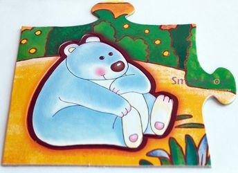 Напольный пазл В зоопарке (Мозаика для малышей) фотография 4