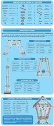Конструктор металлический Эйфелева башня 977 эл (00863) фотография 2