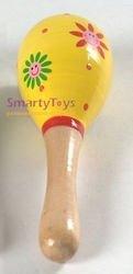 Фото Музыкальная игрушка Маракас деревянный малый (Д208)