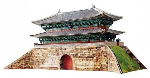 Фото Сборная модель Ворота Намдэмун (Сеул, 369)