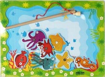 Фото Деревянная развивающая игра Рыбалка (42262/40074) Фабрика фантазий