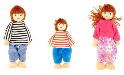 Фото Деревянные куклы Мама, Папа, Я (Д276а-1)
