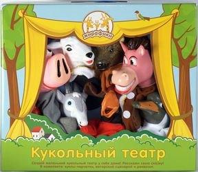 Фото Кукольный театр Домашние животные и птицы, 8 кукол (68347)