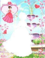 Книжка раскраска Принцессы Самоцветы Волшебные картинки-невидимки фотография 2