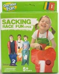 Фото Детская спортивная игра Веселые старты, бег в мешках (XL68805)