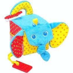 Фото Мягкая развивающая игрушка Кубик Слон (306)