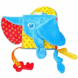 Мягкий развивающий Кубик Слон (306) фотография 4