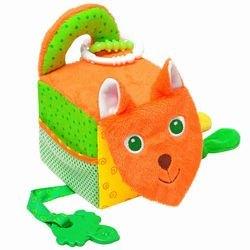 Фото Мягкая развивающая игрушка Кубик Лиса (305)