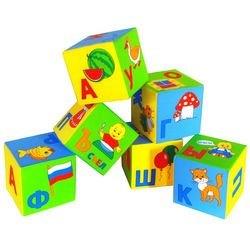 Фото Мягкие кубики Умная азбука (206)
