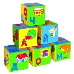 Мягкие кубики Умная азбука (206) фотография 2