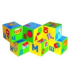 Мягкие кубики Умная азбука (206) фотография 4