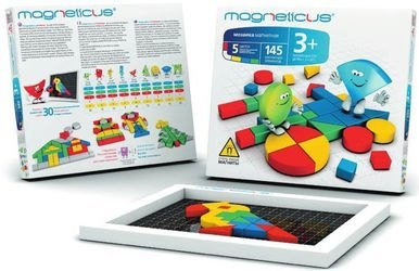 Фото Мозаика магнитная для малышей Magneticus (145 эл.)