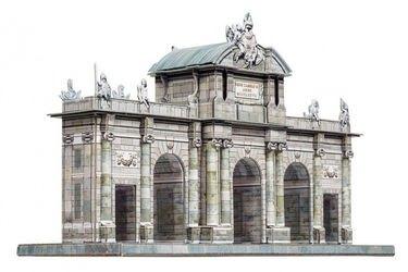 Фото Сборная модель Ворота Алькала (Мадрид, 353)