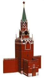 Фото Сборная модель из картона Спасская башня Московского Кремля (219)
