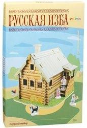 Сборная модель из картона Русская изба (206-01) фотография 4