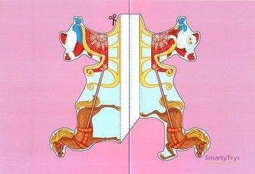 Набор для творчества Объемные открытки своими руками Здравствуй, Дедушка Мороз! фотография 8