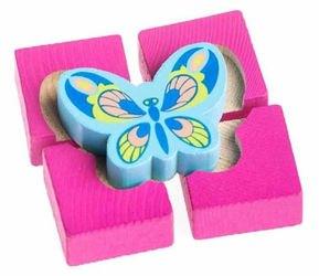 Фото Деревянная развивающая игрушка Собирайка Бабочка