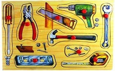 Фото Деревянная рамка-вкладыш Мои инструменты (П-1047)